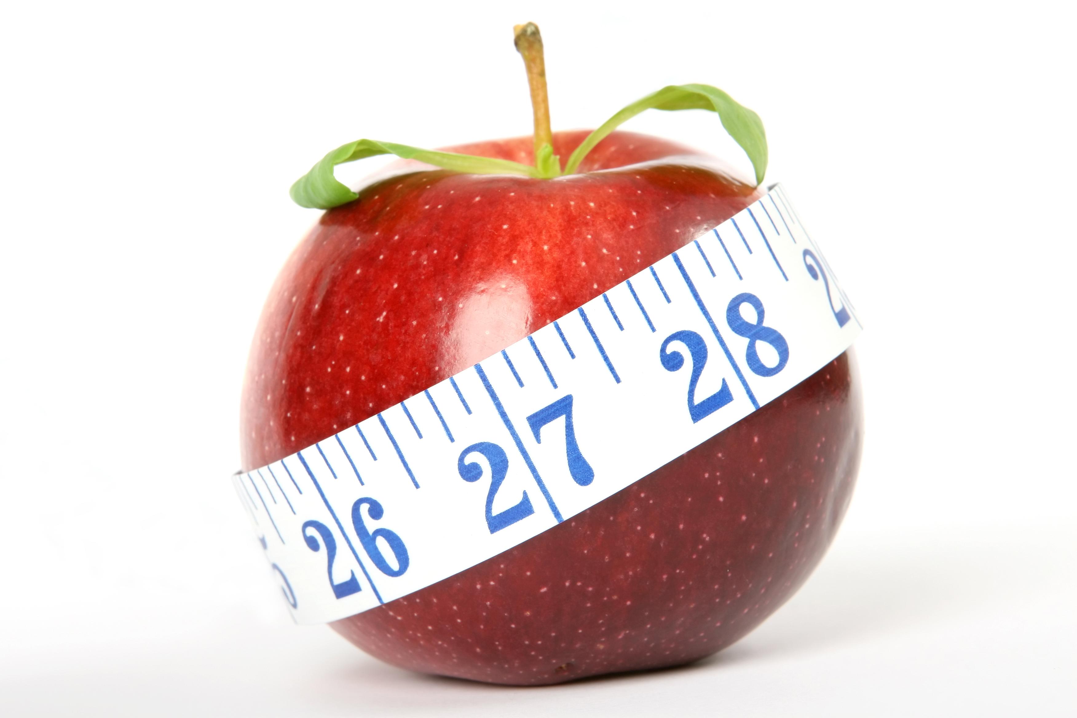 Appel op dieet